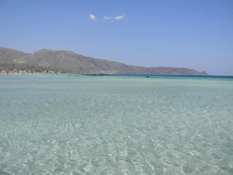 Les eaux d'Elafonissi