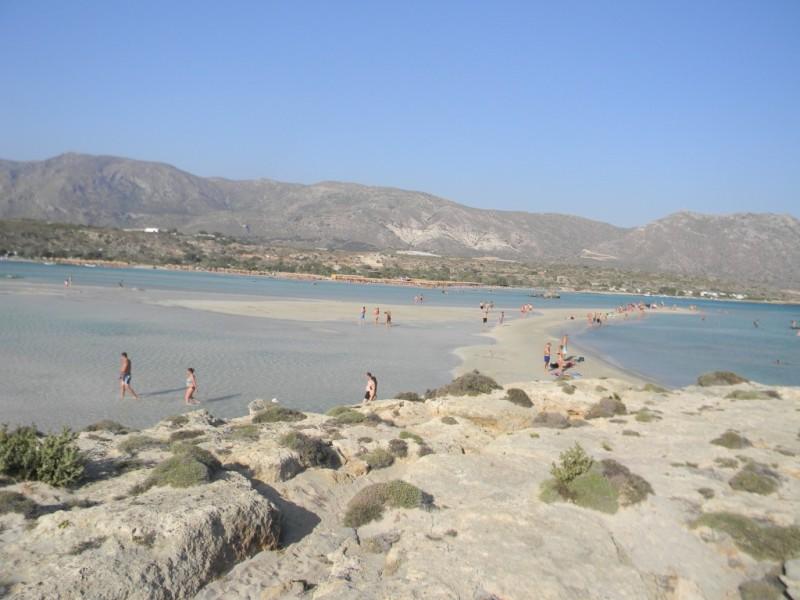 Elafonissi et son isthme de sable