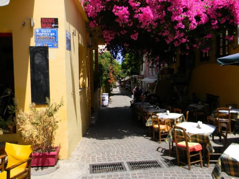 Rues étroites de la vieille ville - Chania