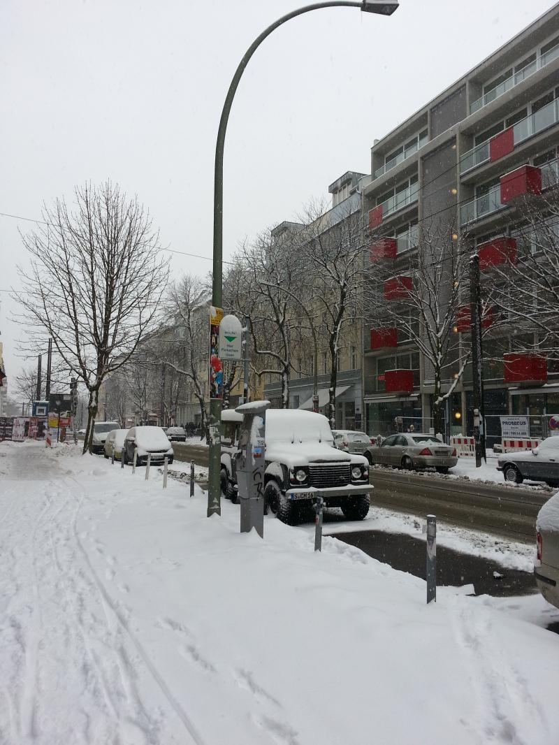 L'hiver, à deux pas de chez moi