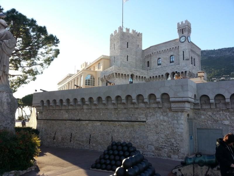 Le château de Monaco